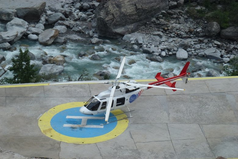 Hemkund Sahib by Helicopter